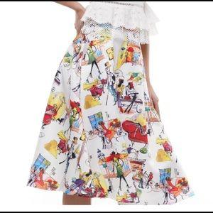 Dresses & Skirts - Print A-Line Skirt